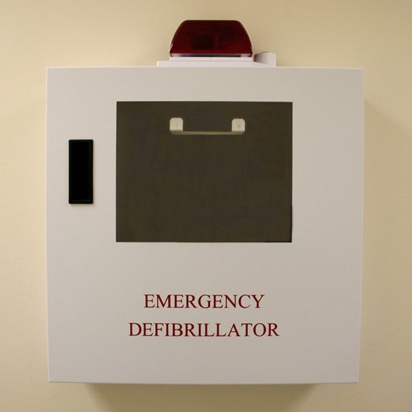AED Cabinet With Strobe Alarm