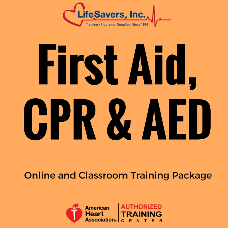 Heartsaver First Aid With Cpr Aed Online And Classroom Training