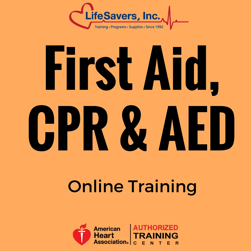 Heartsaver First Aid With Cpr Aed Online Training Lifesavers Inc