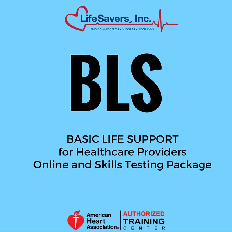 BLS Provider (Heartcode BLS) Online and Skills Testing Package ...