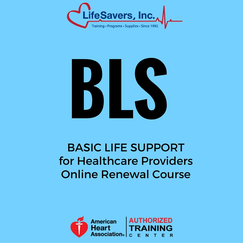 Bls Provider Heartcode Blsonline Course Part 1 Lifesavers Inc