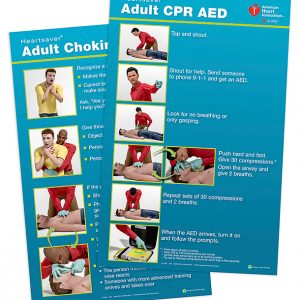 15-1028 Heartsaver Adult Poster Pack