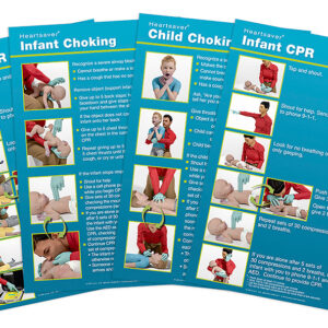 15-1029 Heartsaver Child And Infant Poster Pack