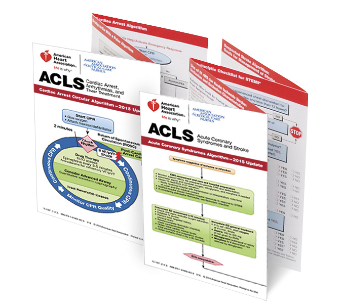 acls pocket reference card set 2015 lifesavers inc rh lifesaversinc com Printable ACLS Algorithms 2016 2016 ACLS Study Guide