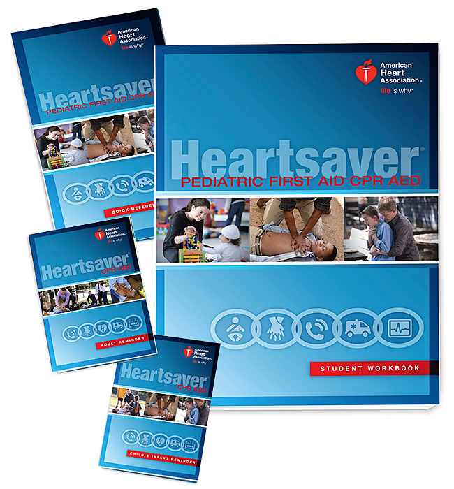heartsaver pediatric first aid cpr aed student workbook 15 1038