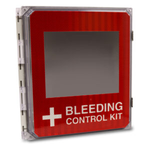 Bleeding Control Cabinet No Supplies Angle