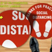 Social Distancing Floor Sign non Slip