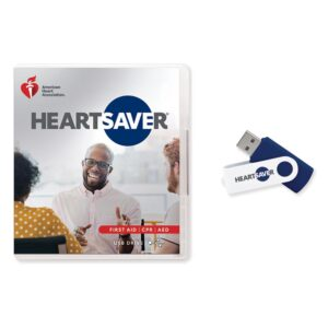 2020 Heartsaver First Aid CPR video on USB