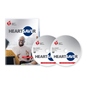 2020 Heartsaver First Aid CPR AED DVD Set 20-1123