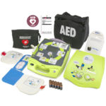 AED Plus with Medical Prescription: ZOLL AED Plus with AED Cover, PlusRX Medical Prescription, CPR-D-padz® Electrode, pack of 10 CR123a batteries, and Carry Case