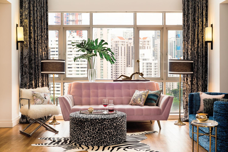 Lindsay Narain Living Room
