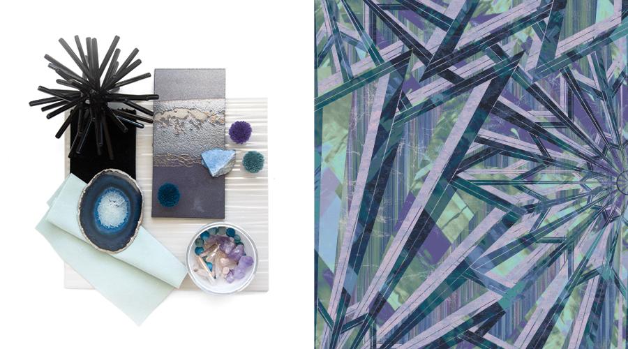 Left: Aura Trend; Right: Retrospective Collection Pattern #Q01/A13226ZSG