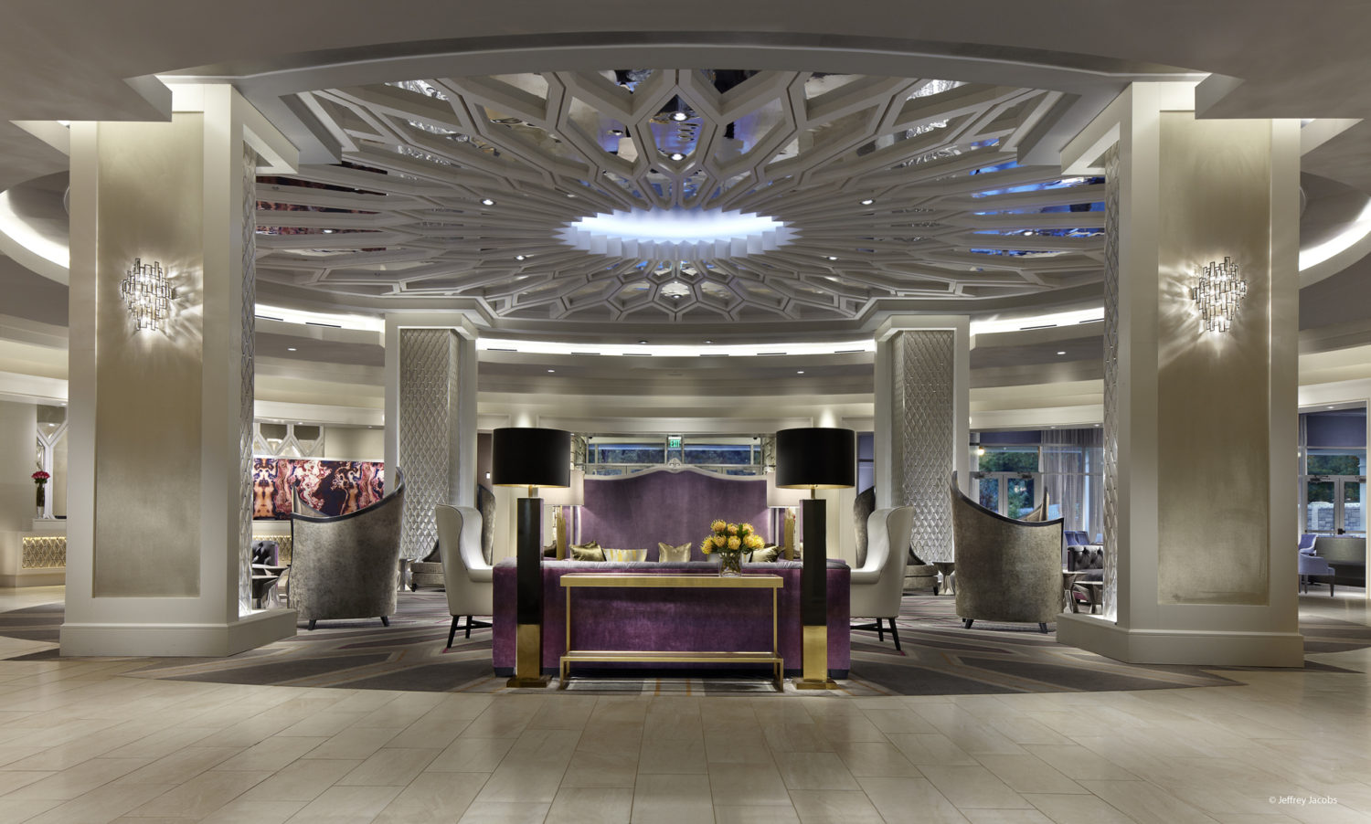 The Guest House at Graceland Lobby- Photo by Jeffery Jacobs - Design by DreamCatcher Hotels
