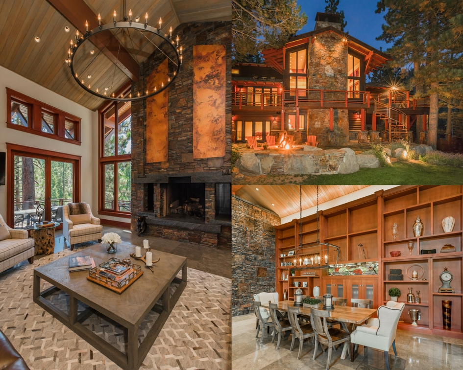 the Winding Creek Estate: Lake Tahoe, California - Life-Styled.net - Winter Cabin Guide