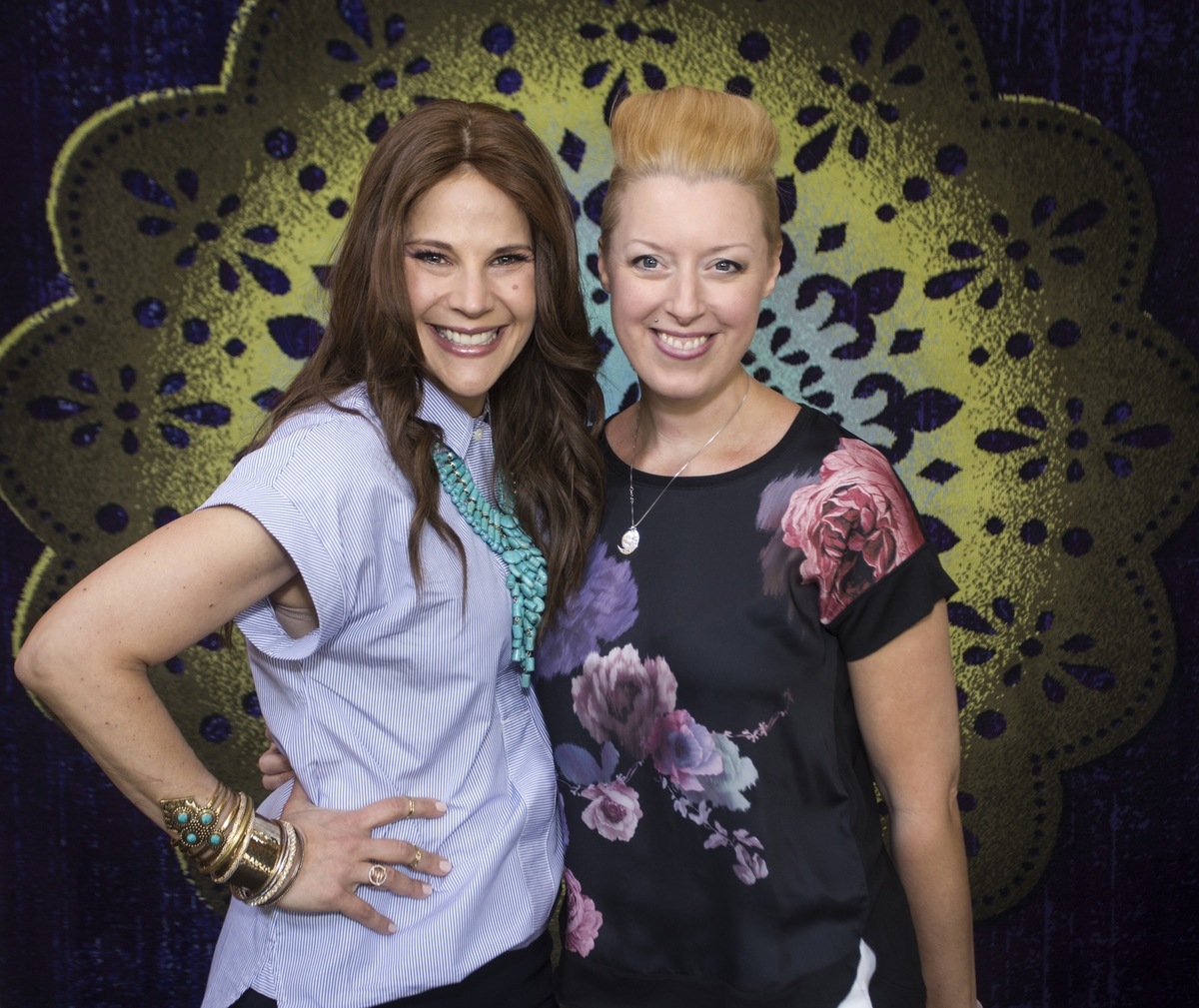 Stacy Garcia and Leah Jack at BDNY 2015 - Life-Styled.net