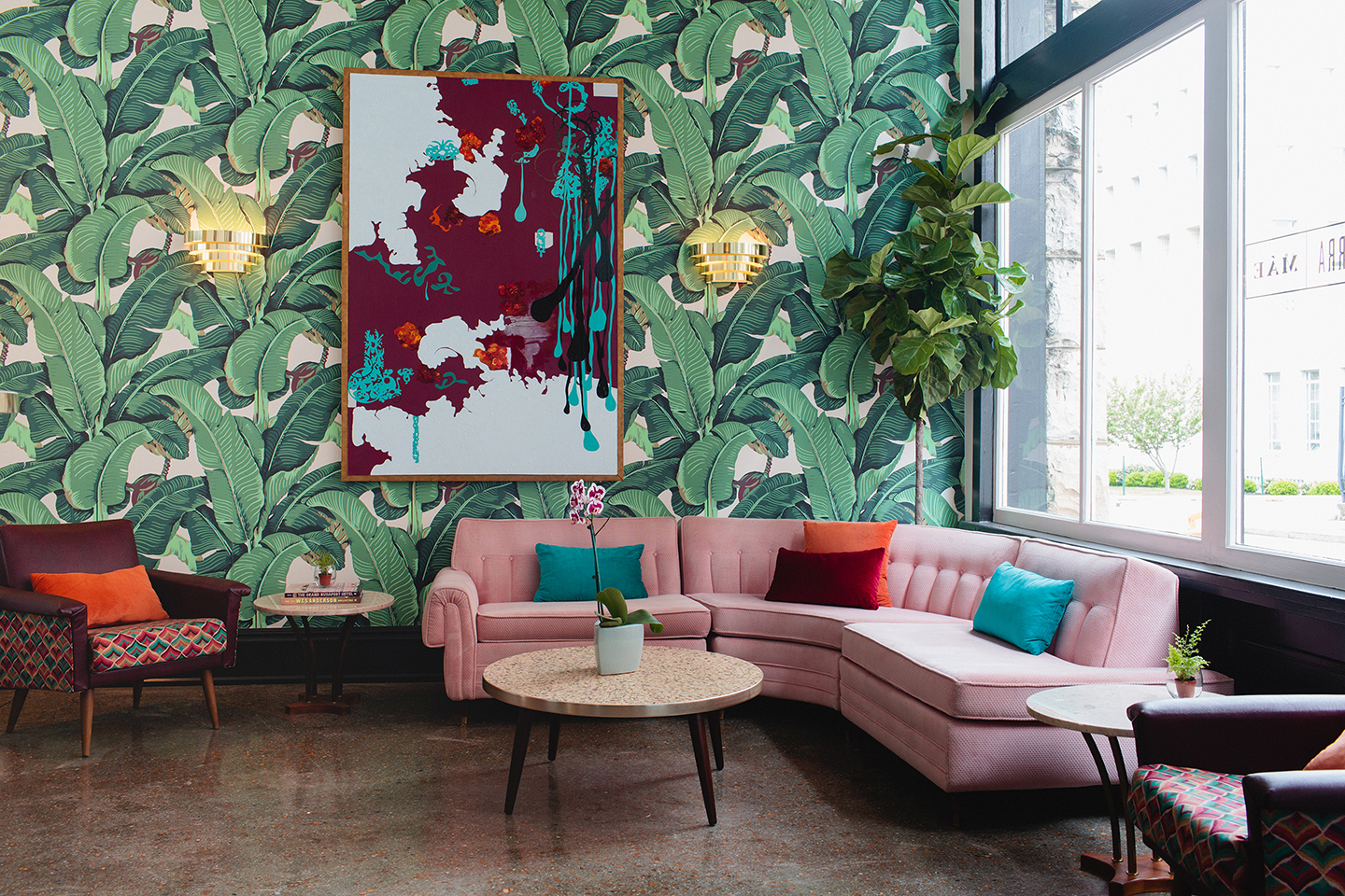 Dwell Hotel, The Parlor, Photographed by: Graham Yelton - Life-Styled.net