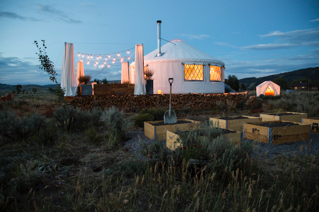 Luxury Yurt in Jackson Wyoming All done Elliyah