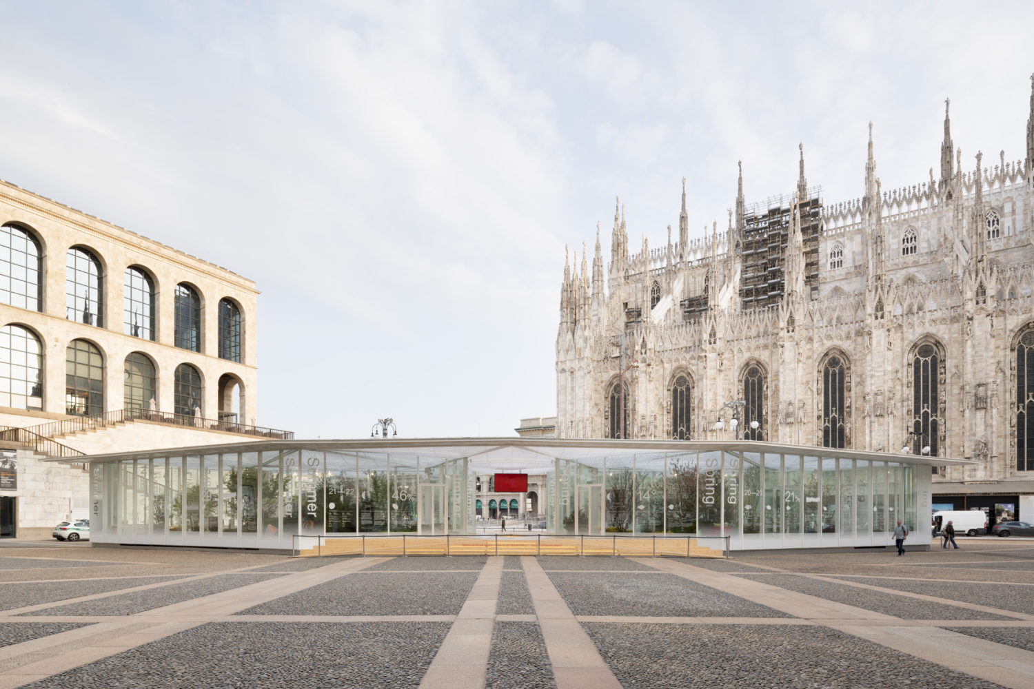 Salone del Mobile Milano by Carlo Ratti Associati