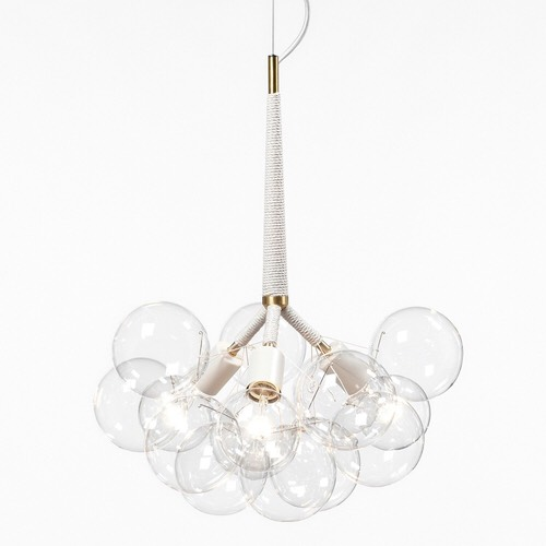 X Large Bubble Chandelier