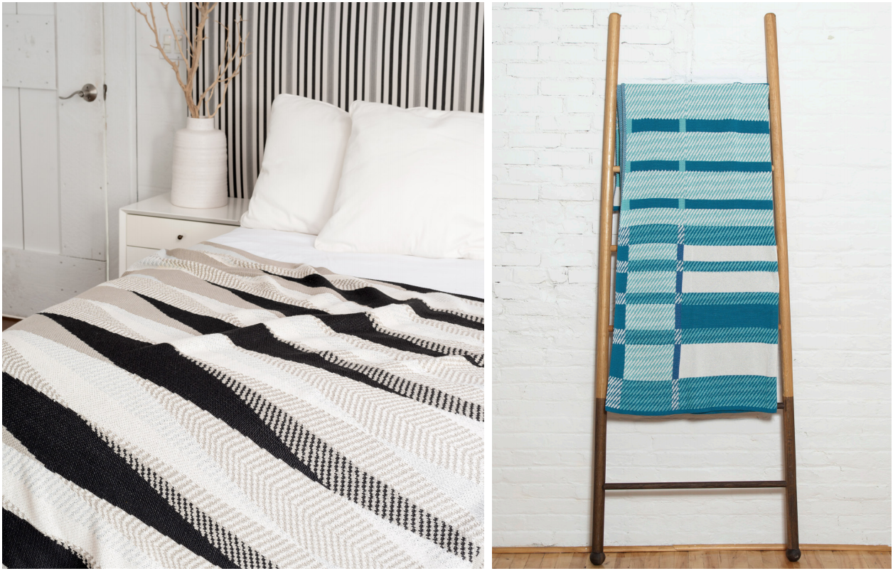 Product Shown: Stacy Garcia Commercial for In2Green: Modesto and Plaid Indoor/Outdoor Throws
