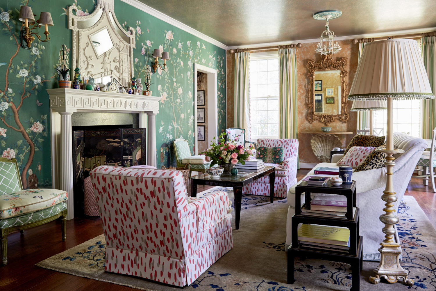 Madcap Cottage - High Point Living Room
