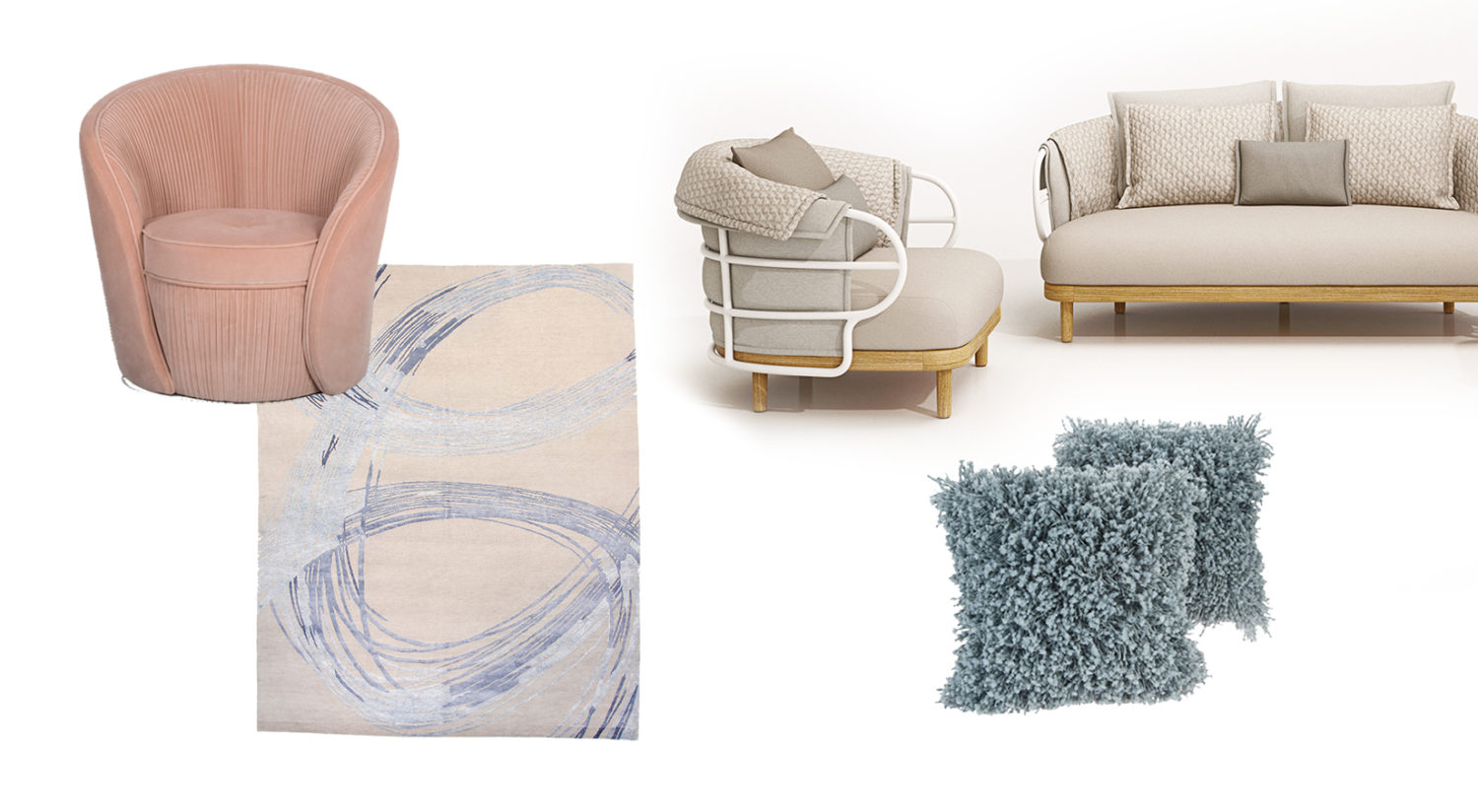 Wellness Trend: Soft Comfort Product Collage
