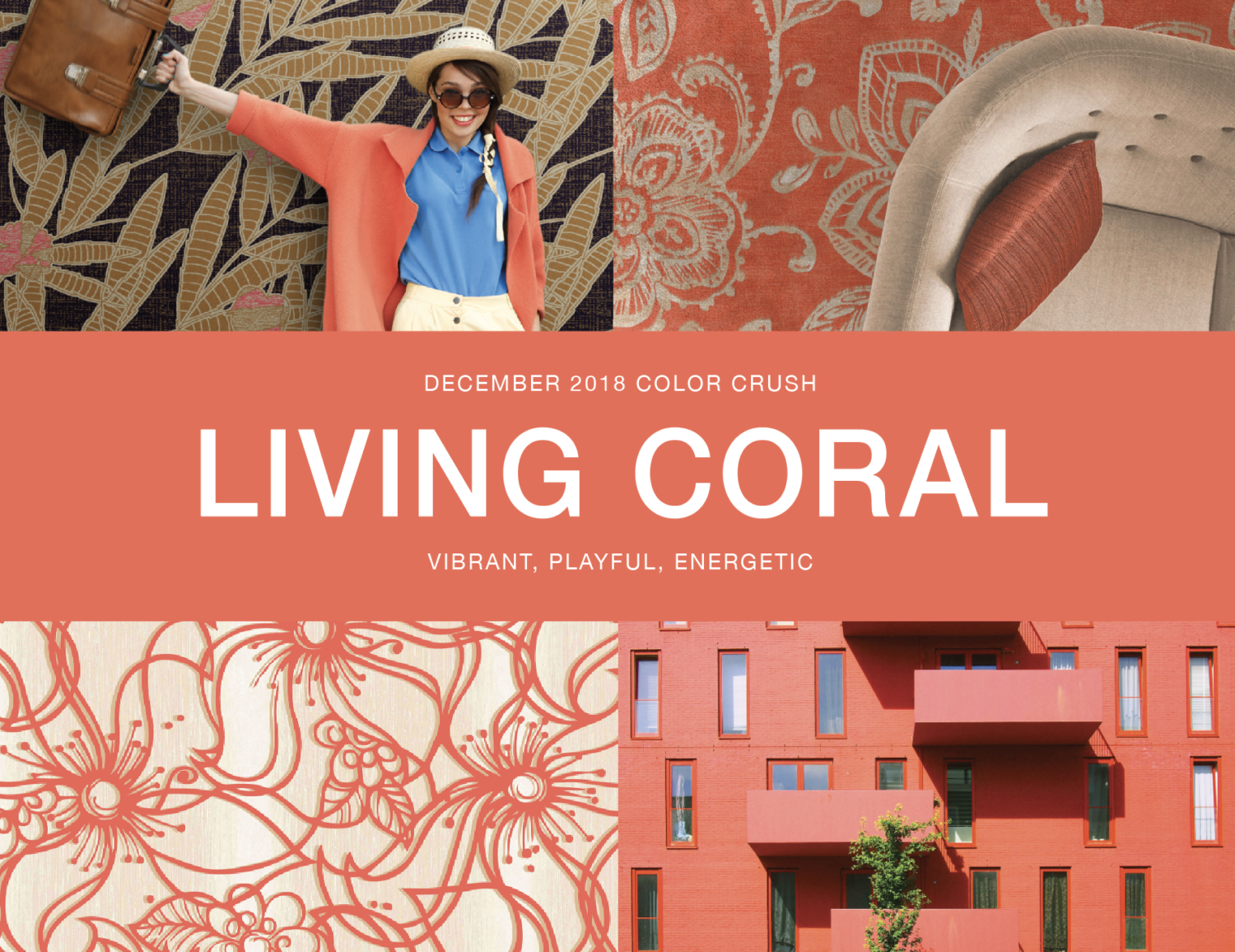 December Color Crush: Living Coral