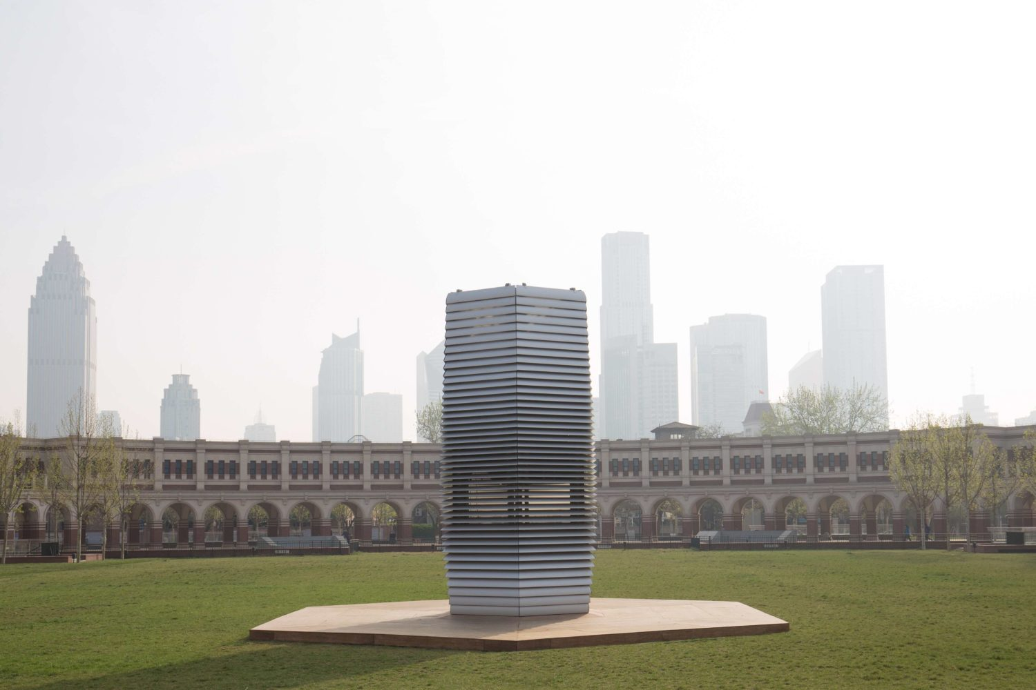 Smog Free Tower by Studio Roosegaarde, Tianji, Photo by Hasy