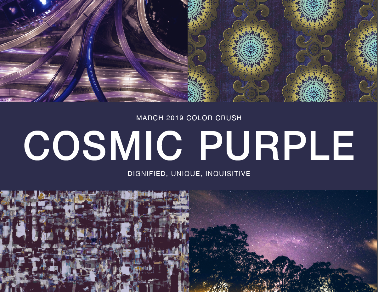 Color Crush: Cosmic Purple