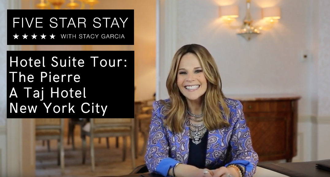 Stacy Garcia: Five Star Stay: The Pierre, A Taj Hotel