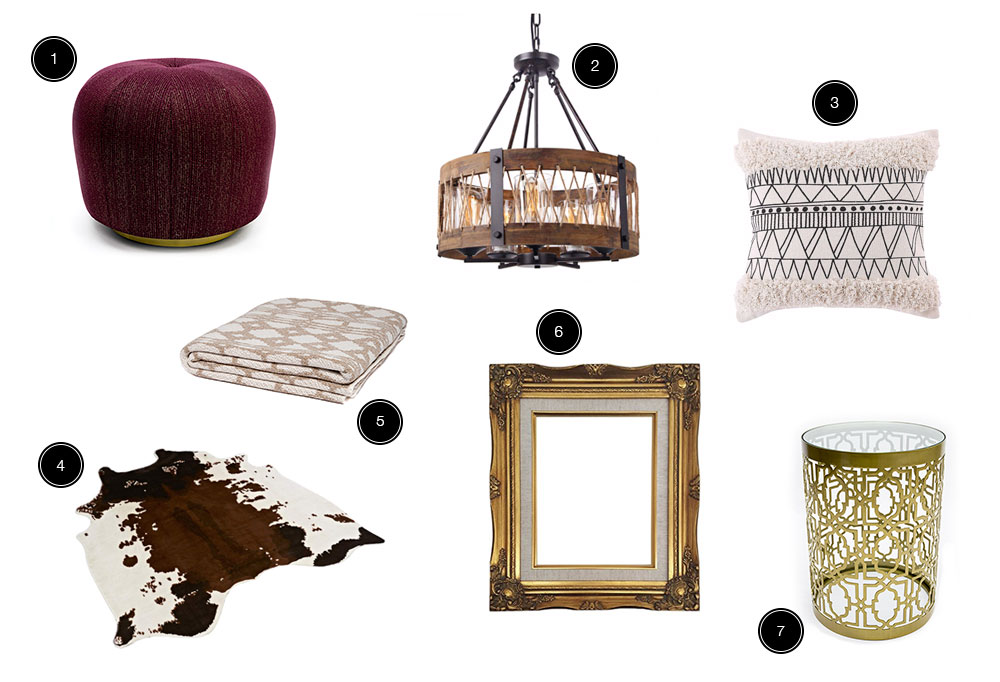 Get the look of Bailey's home with these products.