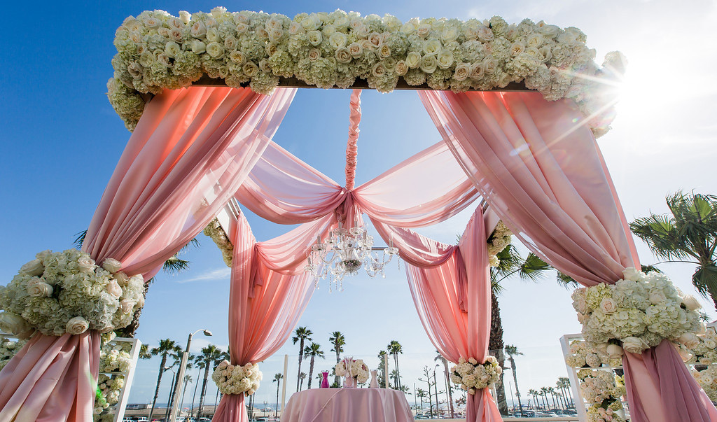 Lifetime Weddings & Events -  altar canopy