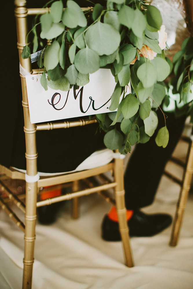 Lifetime Weddings & Events -  chair design