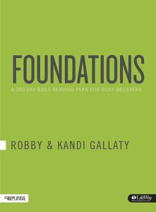 Cover of Foundations by Robby and Kandi Gallaty