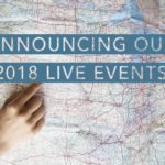 Announcing Our 2018 Events!