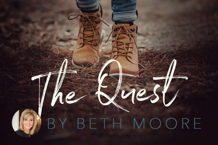 Cover of The Quest Bible Study by Beth Moore