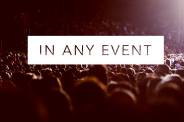 In Any Event | Events for the College Students in Your Life