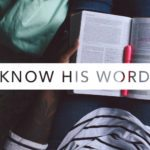 Know His Word | March Reading Plan