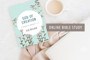 God of Creation Bible Study Book Giveaway