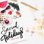 Sacred Holidays Giveaway