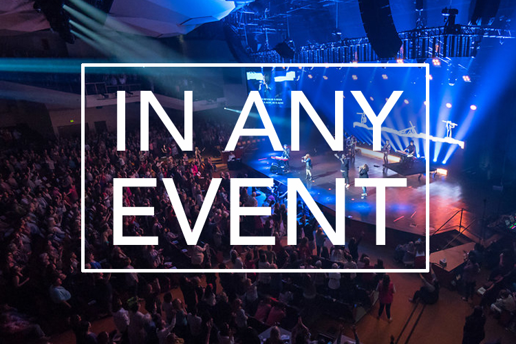 lifeway events, in any event logo