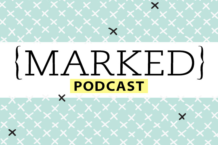 marked podcast logo priscilla shirer podcast