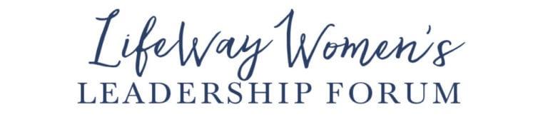 LifeWay Women's Leadership Forum Logo