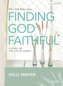 Cover of Finding God Faithful Bible Study by Kelly Minter