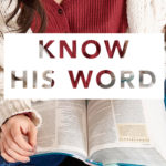 Know His Word | February 2020 Reading Plan