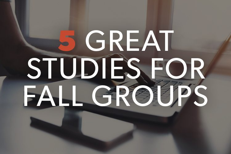 4 Great Studies for Fall Groups