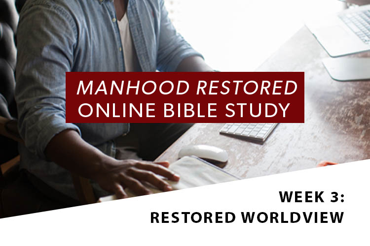 Manhood Restored Online Bible Study [Session 3]