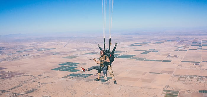 Skydiving, Lent, and the Beauty of Death