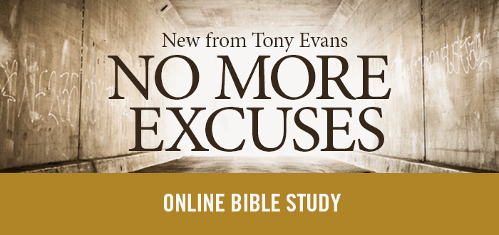 No More Excuses Online Bible Study