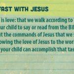 Week of April 15 – Peter Had Breakfast with Jesus – Social Media Plan